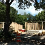 New cottage construction on West Strong Street
