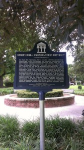 North Hill District, Historic Landmark Designation by the State of Florida