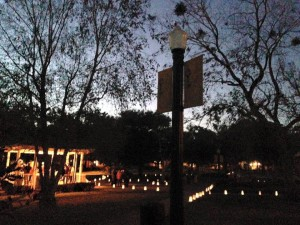 Luminary Night in Alabama Square